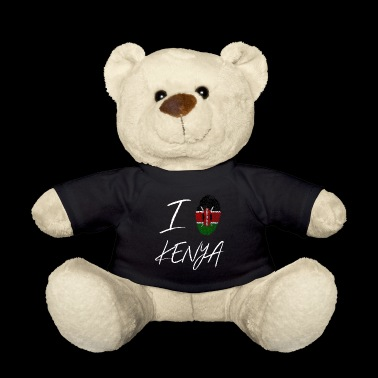 I love Kenya - Teddy Bear