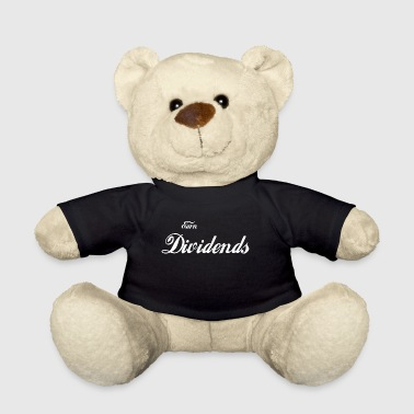 Dividends / gift / shares / stock exchange / freedom - Teddy Bear