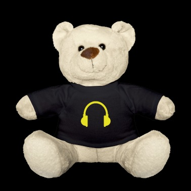 headphones - Teddy Bear