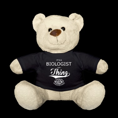 Biologist - Teddy Bear