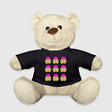 princess cancer mosaic - Teddy Bear