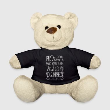 You Can Be My Valentine Tonight - Valentine Shirt - Teddy Bear