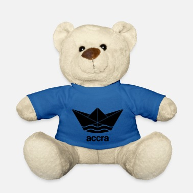 Accra Cool Accra paper ship design Ghana - Teddy Bear
