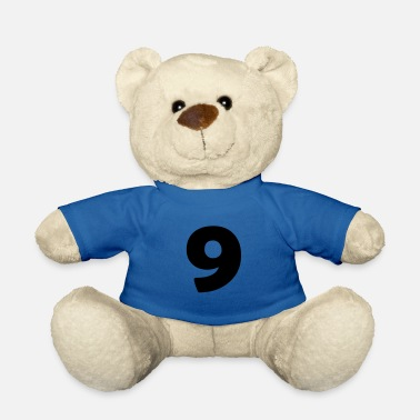 Jersey Number 9 - Teddy Bear