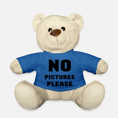 Picture no pictures please - Teddybär