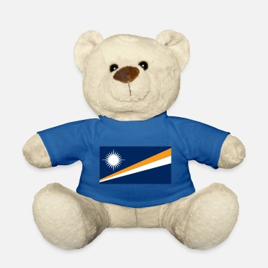 Nightspot Flag of the Marshall Islands. - Teddy Bear