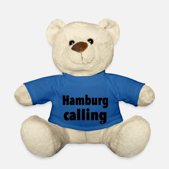 Stadium Teddy Bear Toys - Hamburg - Teddy Bear royal blue