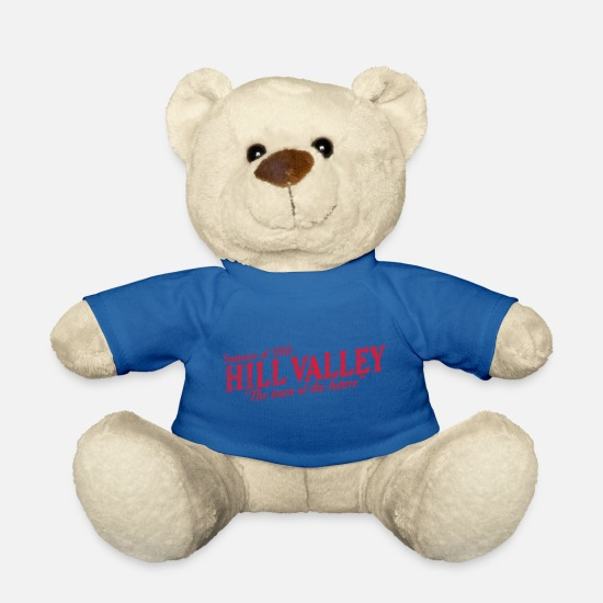 Valley Teddy Bear Toys - Hill Valley Town of the Future! - Teddy Bear royal blue