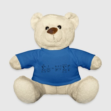 Inverse binomial coefficient sum - Teddy Bear
