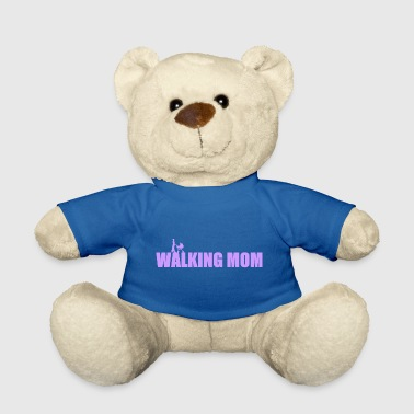 Lilac The Walking Mom - mother with stroller - Teddy Bear