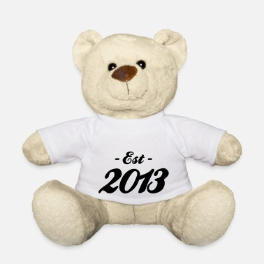 Established naissance - Established 2013 - Ours en peluche