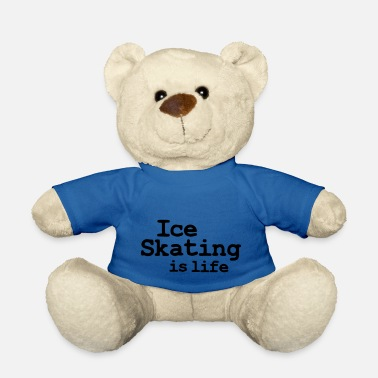 Velocidad ice skating is life - Teddy Bear