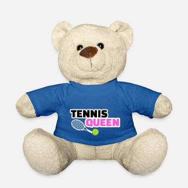 Wimbledon Tennis player Queen Mrs. Wimbledon - Teddy Bear