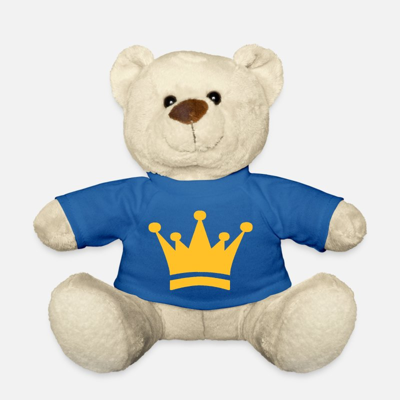 Record Champion Teddy Bear Toys - Crown - Teddy Bear royal blue