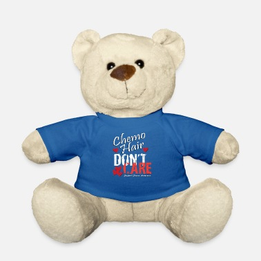 Fight Cancer Anti cancer chemo therapy hair families gift - Teddy Bear