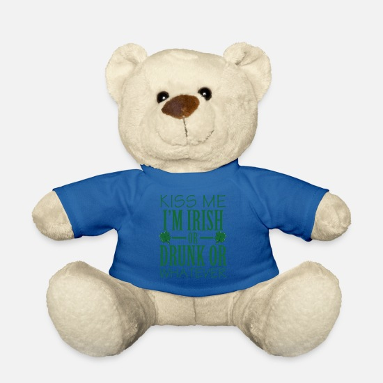 Gift Idea Teddy Bear Toys - Ireland Dublin Irish Catholic Gift - Teddy Bear royal blue