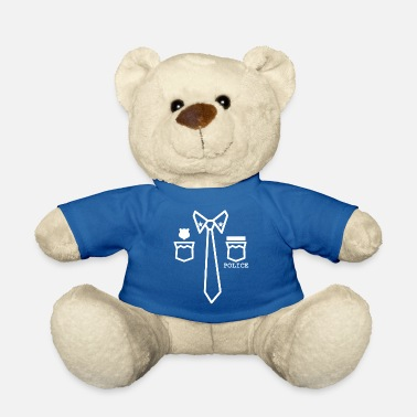 Uniform Police uniform - Teddy Bear