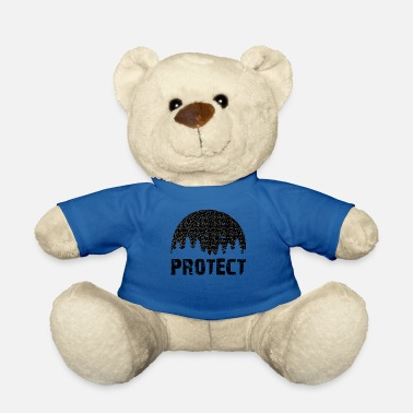 Handmade Protect the Environment - Protect our environment! - Teddy Bear