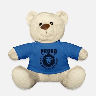 Broken Heart Proud Knee Surgery Survivor Gift - Teddy Bear