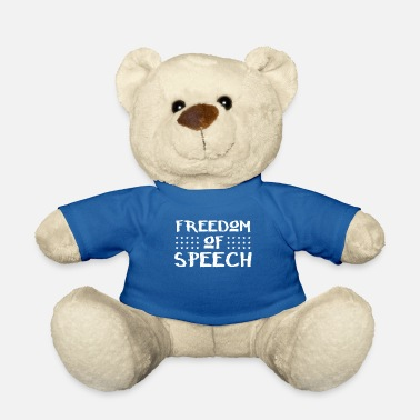 Freedom Of Expression Freedom of speech Freedom of expression Journalist - Teddy Bear