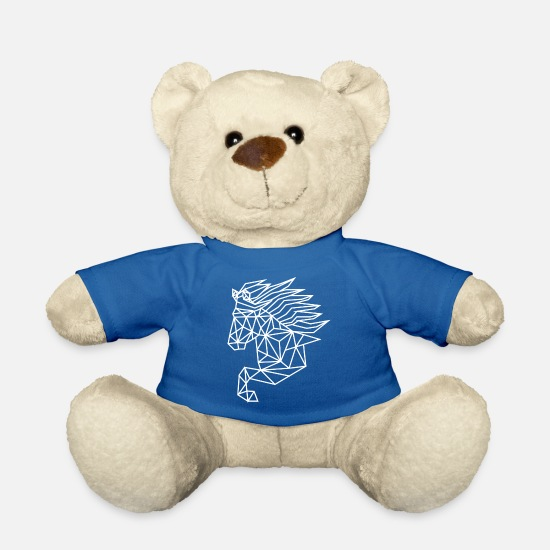 Geocaching Teddy Bear Toys - Isi geo white - Teddy Bear royal blue