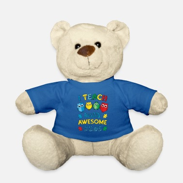 Autism Awareness Autism Teacher Autism Awareness - Teddy Bear