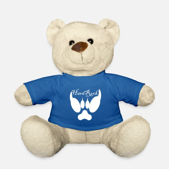Rock Teddy Bear Toys - Hard Rock Hard style - Teddy Bear royal blue
