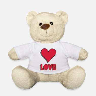 Love With Heart HEART LOVE - Teddy Bear