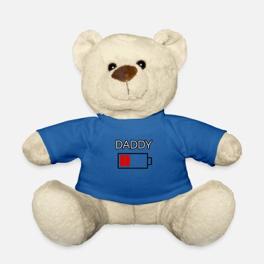 Daddy Ernergie Level Battery Geweldig cadeau-idee - Teddybeer