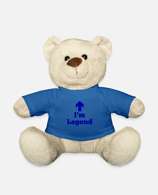 Arrow Teddy Bear Toys - I'm legend, legend - Teddy Bear royal blue