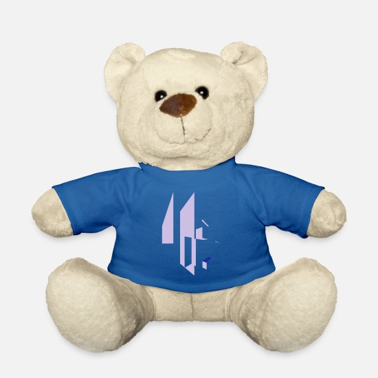 World Teddy Bear Toys - drawing - Teddy Bear royal blue