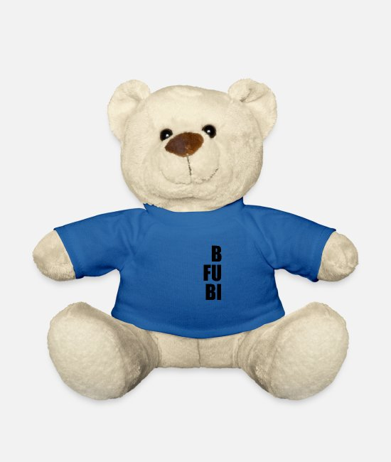 Bitch Teddy Bear Toys - 1st Part Funny Matching Best Fucking Bitches - Teddy Bear royal blue