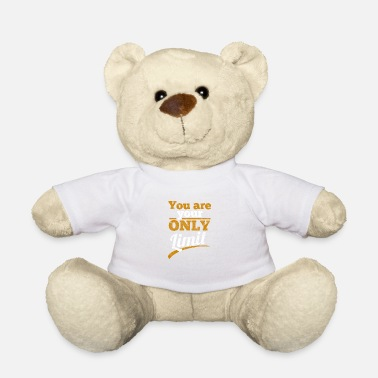 Distressed Du bist dein einziges Limit - Distressed - Teddybär