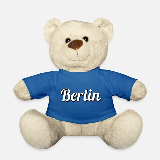 Friedrichshain Teddy Bear Toys - Berlin - Teddy Bear royal blue