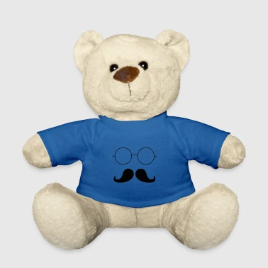Moustache moustached - Teddy Bear