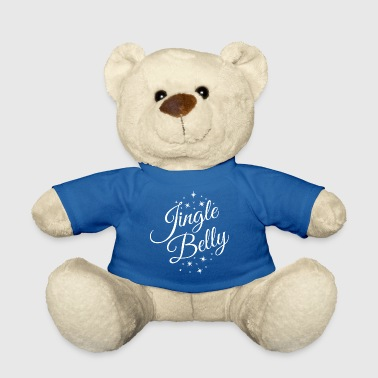 Jingle Belly.Christmas Pregnancy Announcement. Mom - Teddy Bear