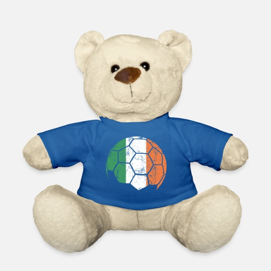 Soccer Ball Teddy Bear Toys - Ireland Soccer Ball Football - Teddy Bear royal blue