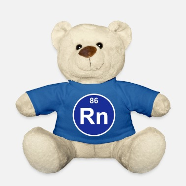 Radon Element 86 - rn (radon) - Minimal-color - Teddybär