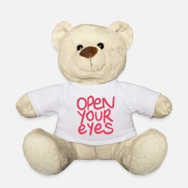 Open open your eyes - Ours en peluche