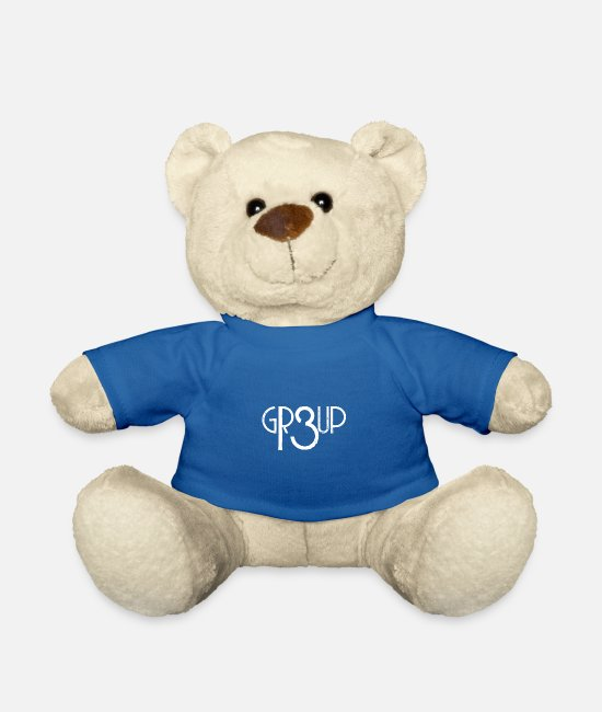 Group Teddy Bear Toys - GROUP13 - Teddy Bear royal blue