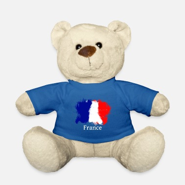 France Flag France France flag - Teddy Bear