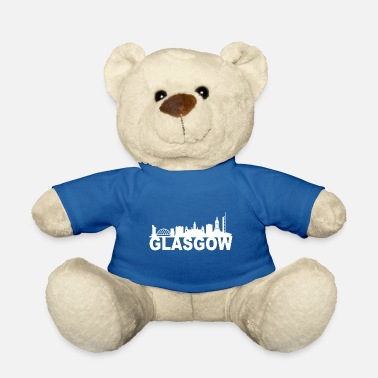 Stad Glasgow Schotland Skyline Gift Idea UK - Teddy