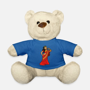 Bollywood india woman indian bollywood - Teddy Bear
