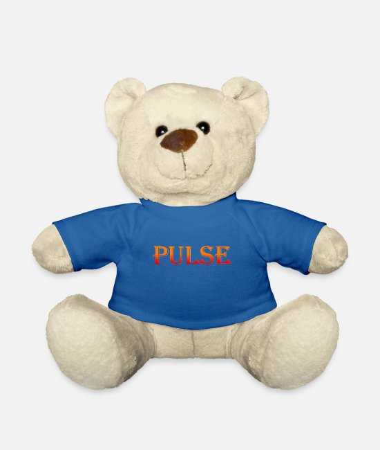 Sinn Teddy Bear Toys - Pulse Pulse Pulse of time - Teddy Bear royal blue