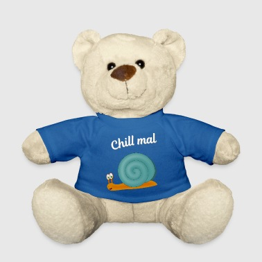 Snail Shell Chill snail blue - Teddy Bear