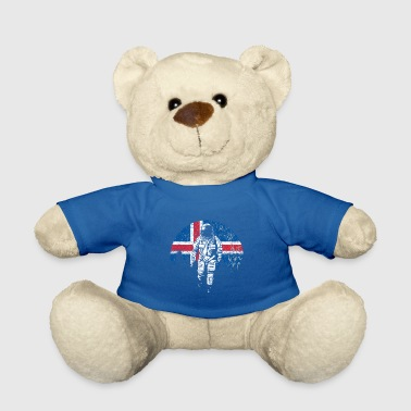 Iceland flag - Teddy Bear