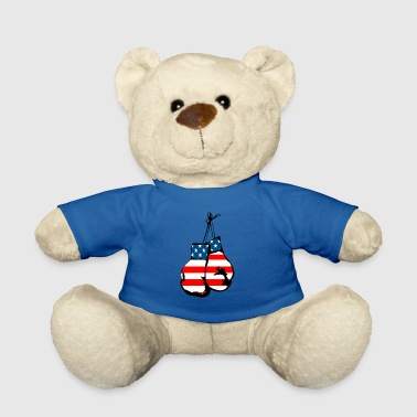 USA boxing gloves - Teddy Bear