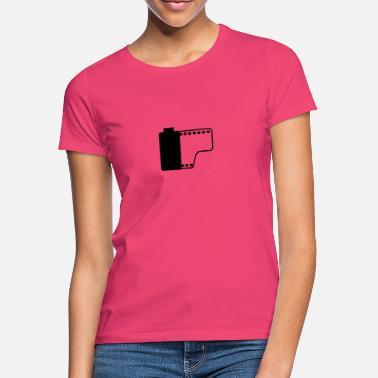 Kodak Film roll (slightly transparent black) gift - Women's T-Shirt