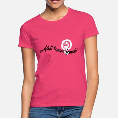 Frau adult human female - Frauen T-Shirt