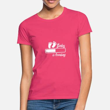 Baby On Board Baby is loading - Women's T-Shirt